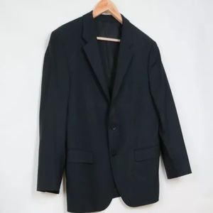 Theory XYLO NP tailor black wool jacket 44R 44